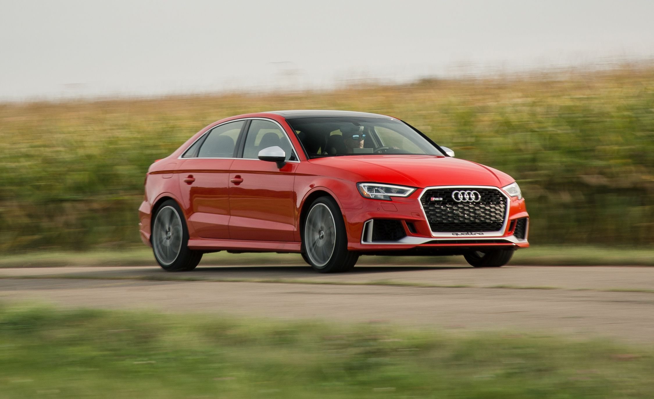 Audi RS3 foi lançado este ano