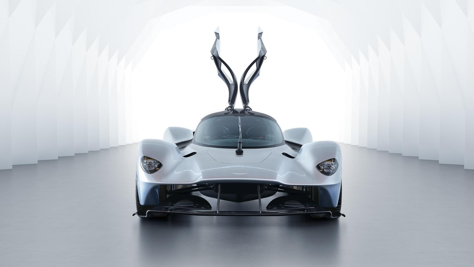 Versão de produção do Aston Martin Valkyrie não deverá ser muito diferente do que vê nesta imagem