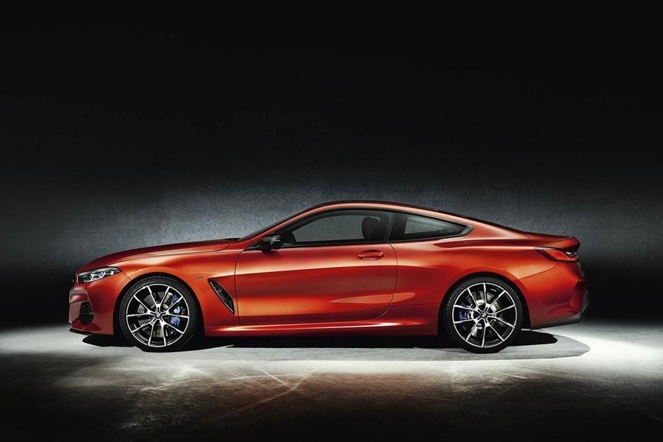 O Série 8 Coupé o atual topo de gama da BMW