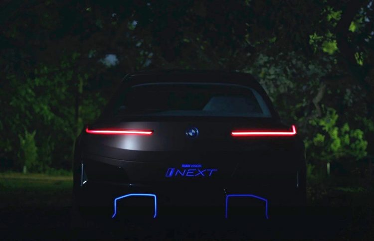 Teaser do BMW iNext concept
