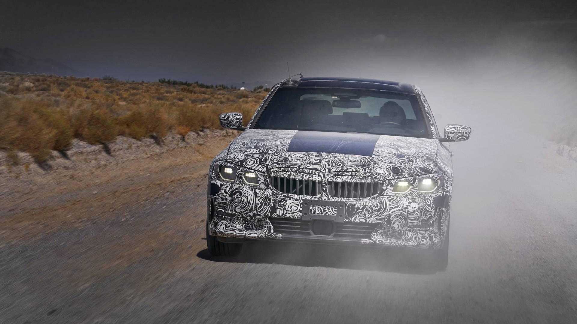BMW Série 3 em testes