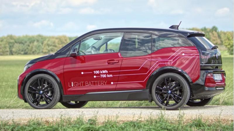 BMW i3 com novas baterias em testes