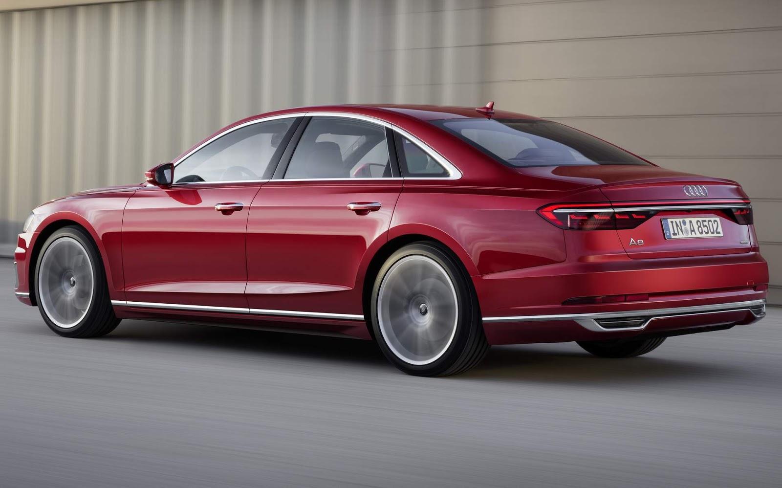 Audi A8 terá nova versão de topo