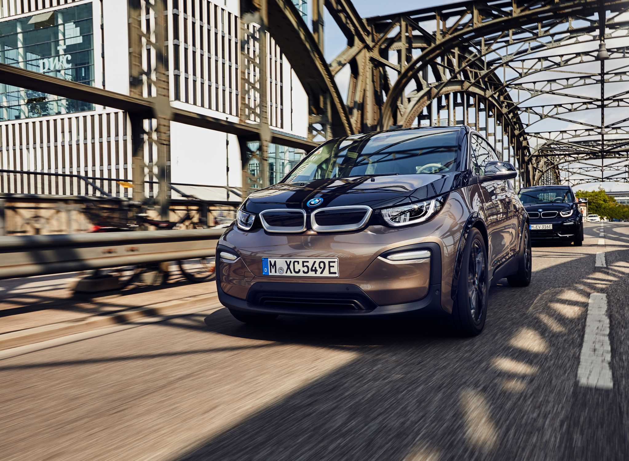 Gama BMW i3 ganha baterias mais potentes
