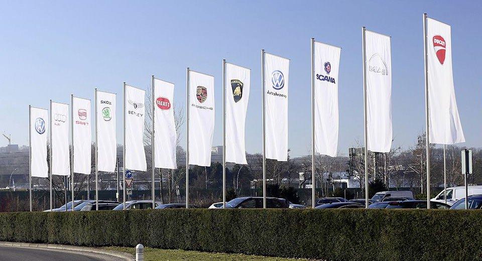 Atualmente o grupo VW é formado por 12 marcas