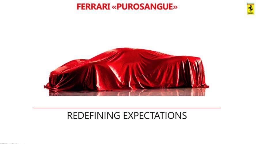 SUV Ferrari vai chamar-se Purosangue