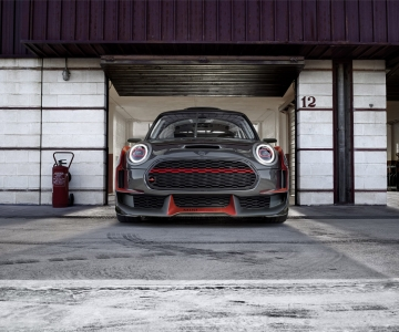 Este é o protótipo Mini John Cooper Works GP de 2017