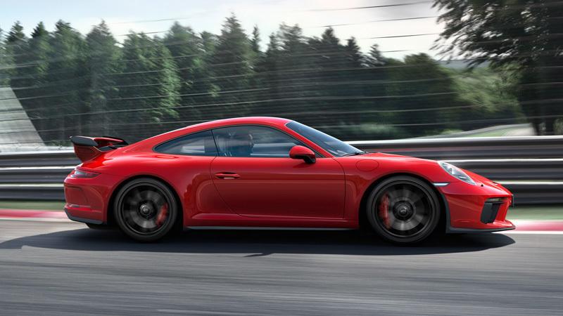 """Porsche 911 GT3 da atual geração, ainda com motor """"atmosférico"""""""