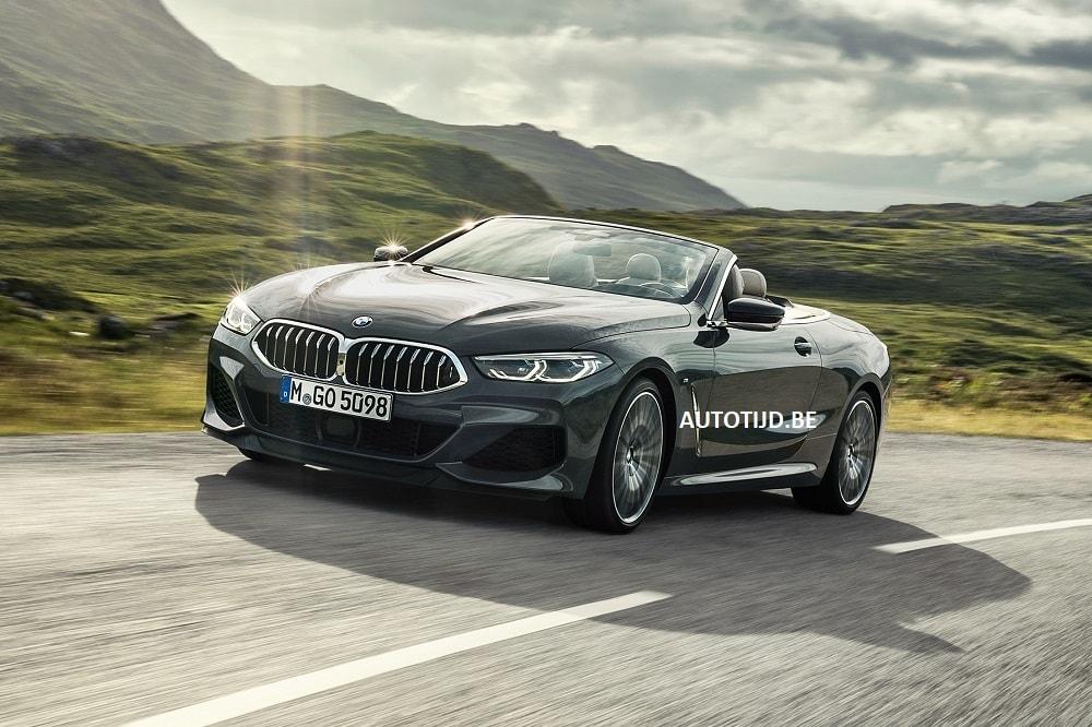 BMW Série 8 Cabriolet mostrado surgiu na internet
