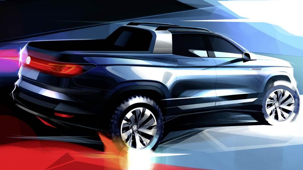 """Volkswagen aposta numa nova pick-up """"made in"""" Brasil, sobretudo dirigida a mercados emergentes"""