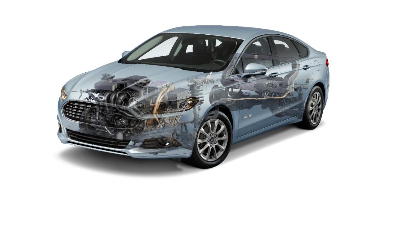 Esta é a versão atual do Ford Mondeo Hybrid