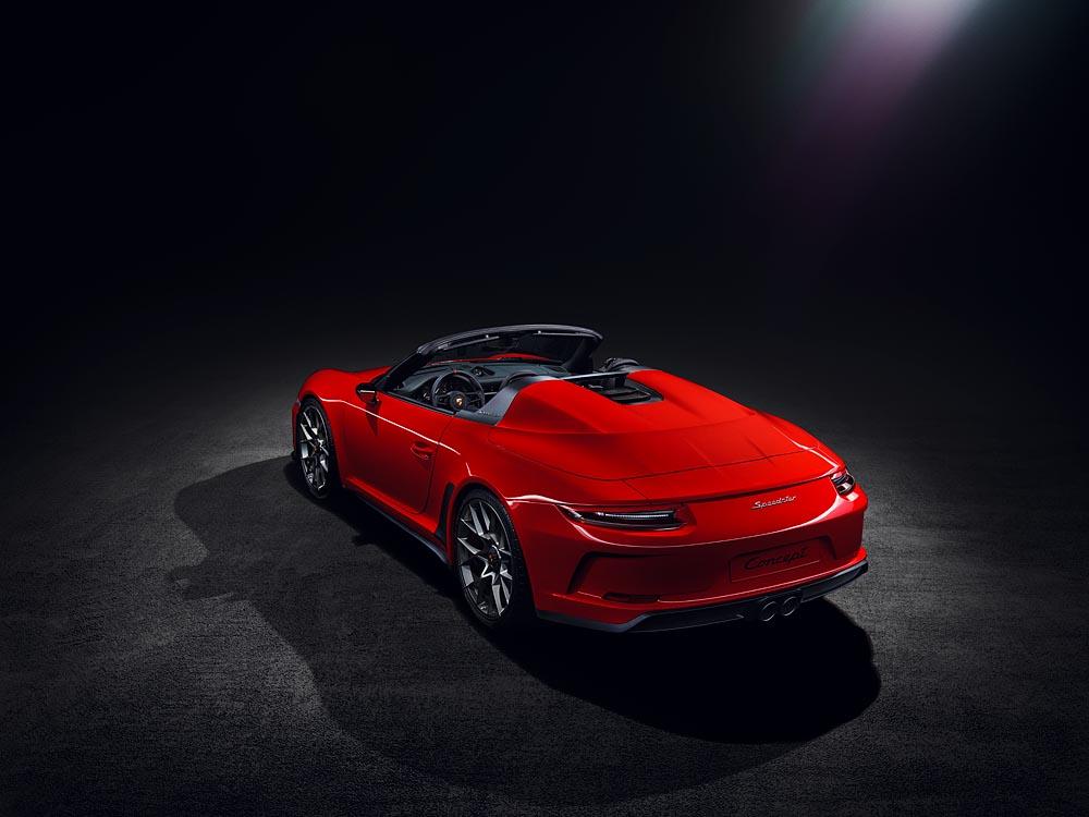 O novo Porsche 911 Speedster terá um motor boxer de seis cilindros atmosféricos com 500 cv