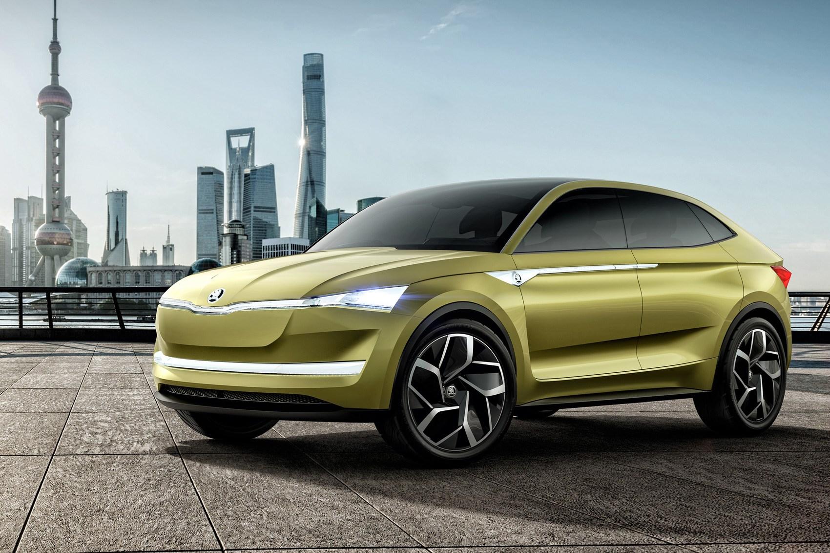 Protótipo Vision E antecipa o primeiro SUV elétrico da Skoda