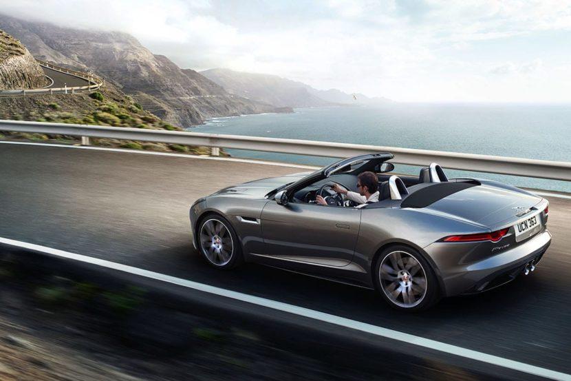 Jaguar F-Type Convertible da geração atual