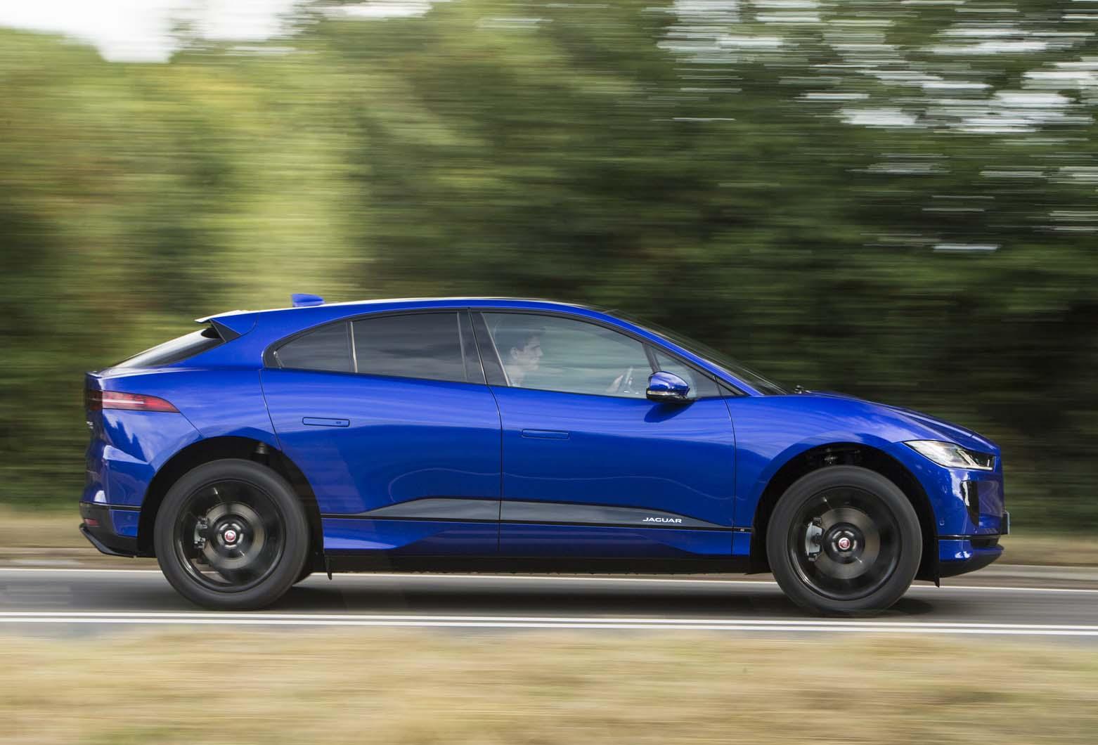 I-Pace é o primeiro elétrico da Jaguar