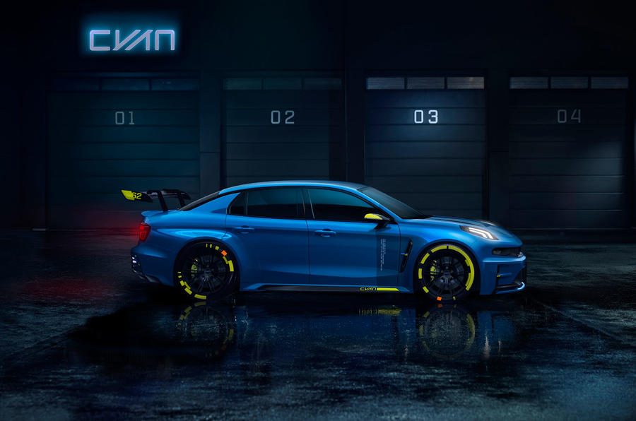 Lynk & Co TCR concept
