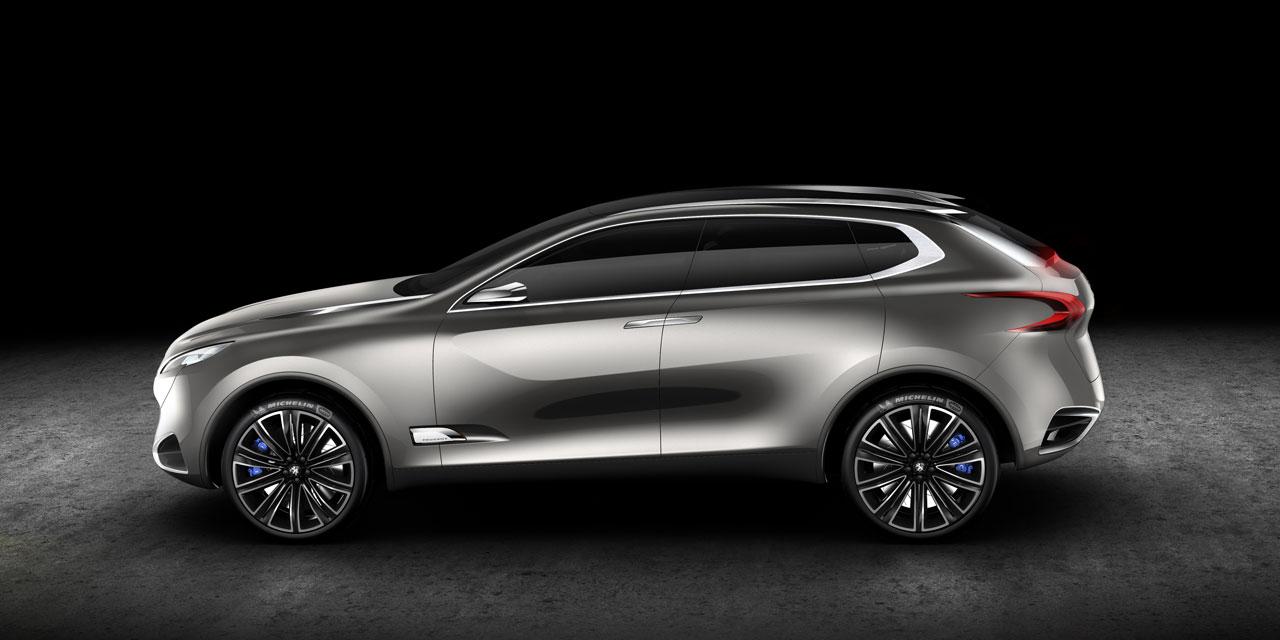 SXC Concept dá pistas para o que poderá ser o novo SUV coupé da Peugeot