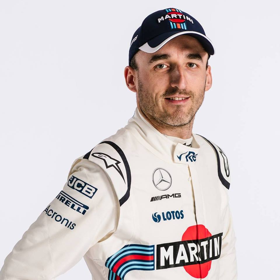 Robert Kubica foi piloto de testes da Williams em 2018