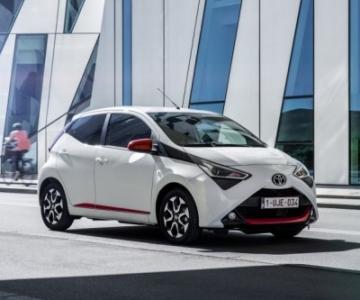 Toyota Aygo foi recentemente sujeito a um facelift