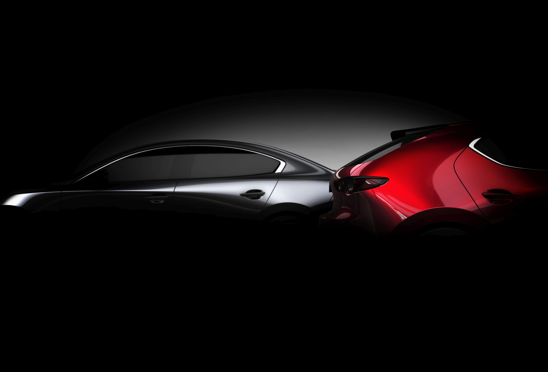 Teaser do novo Mazda3