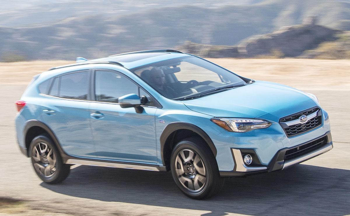 Crosstrek é o primeiro híbrido plug-in da Subaru