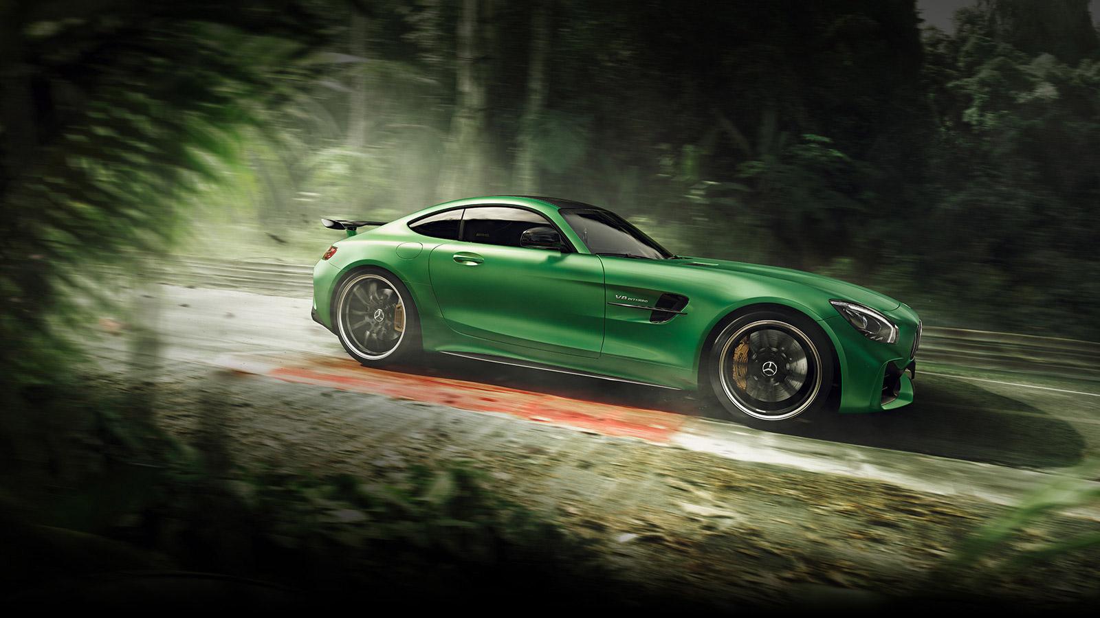 AMG GT R terá versão ainda mais extrema