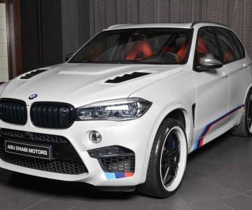 BMW X5 M ainda mais ousado em Abu Dhabi