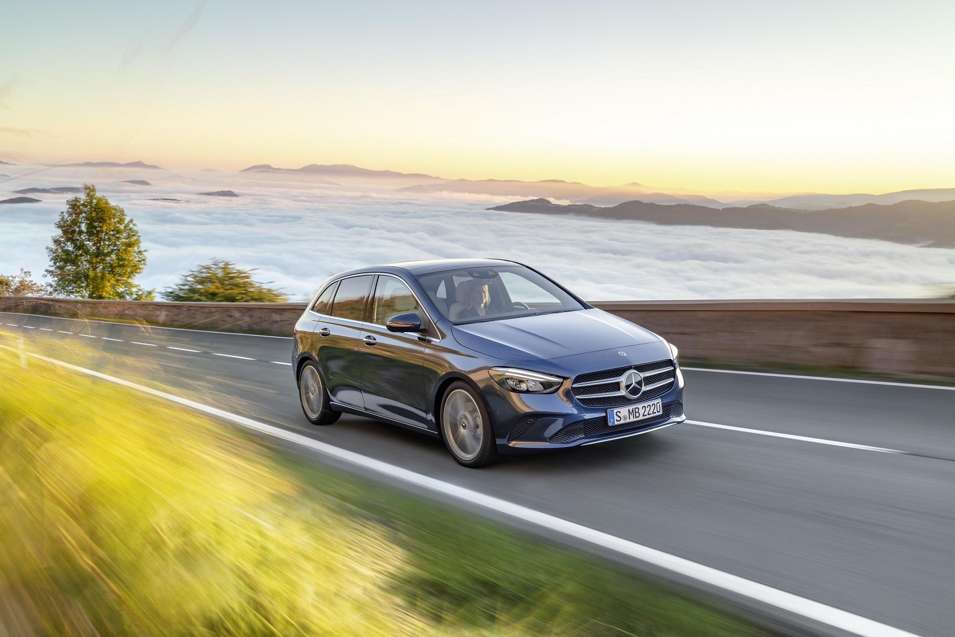 Novo Mercedes-Benz Classe B chega em fevereiro