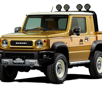 Suzuki Jimny Sierra Pick-Up concept