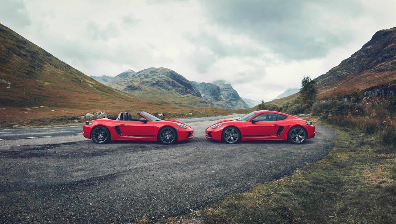 Porsche anuncia chegada de 718 Cayman e Boxster T