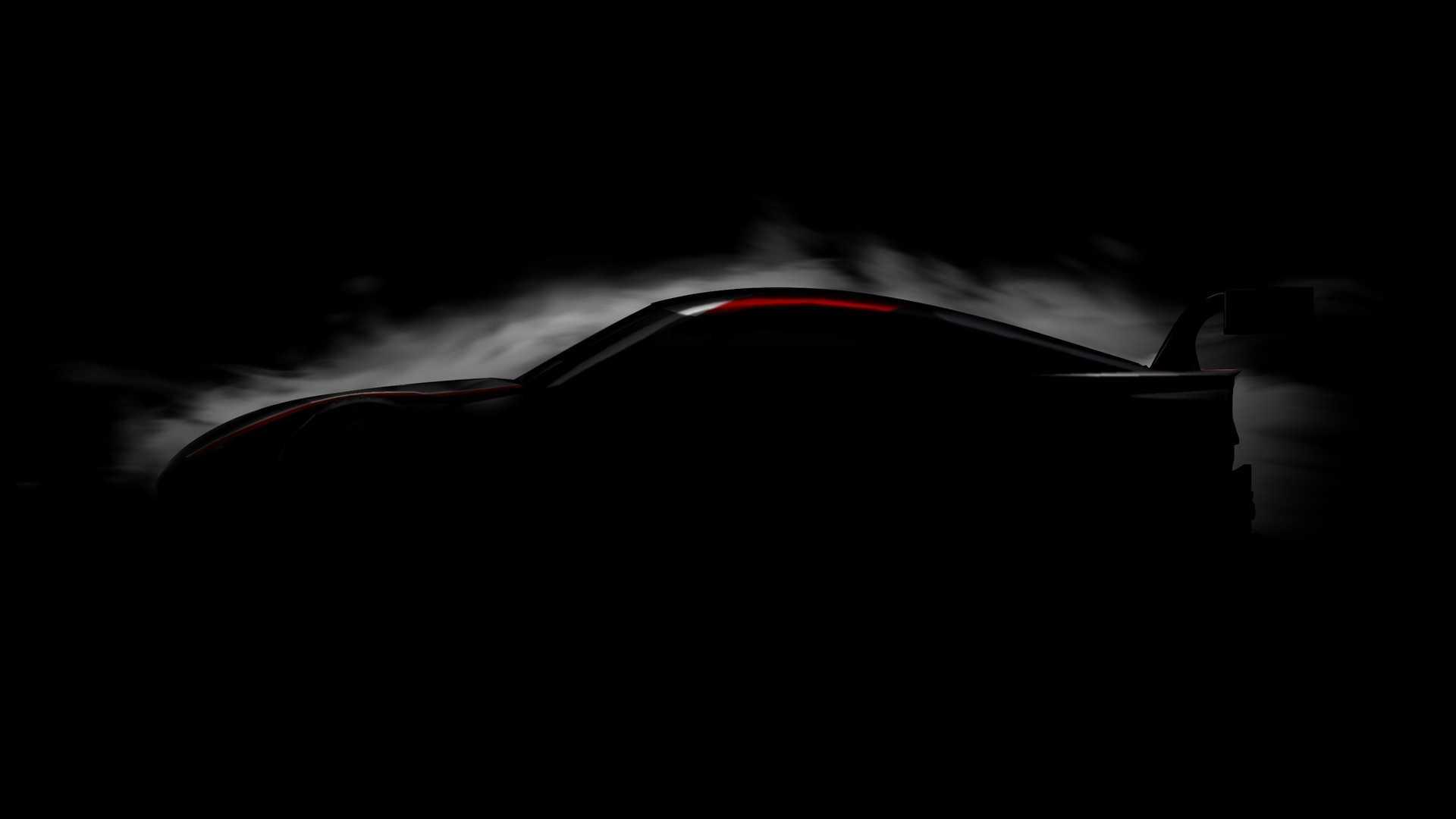 Teaser do Toyota GR Supra Super GT Concept
