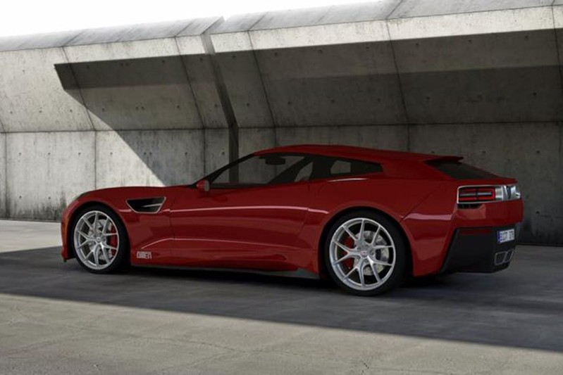 Carroçador Bitter Cars mostrou primeira imagem do Corvette Shooting Brake