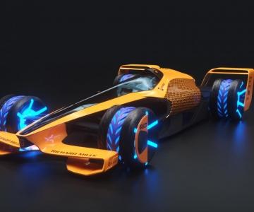 McLaren imagina carro de corridas do futuro