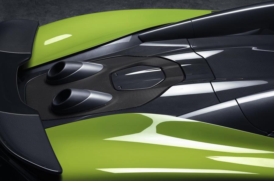 Detalhe do novo McLaren 600LT Spider