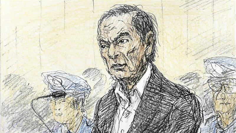 Dois meses após a sua detenção, Carlos Ghosn surgiu visivelmente mais magro em tribunal
