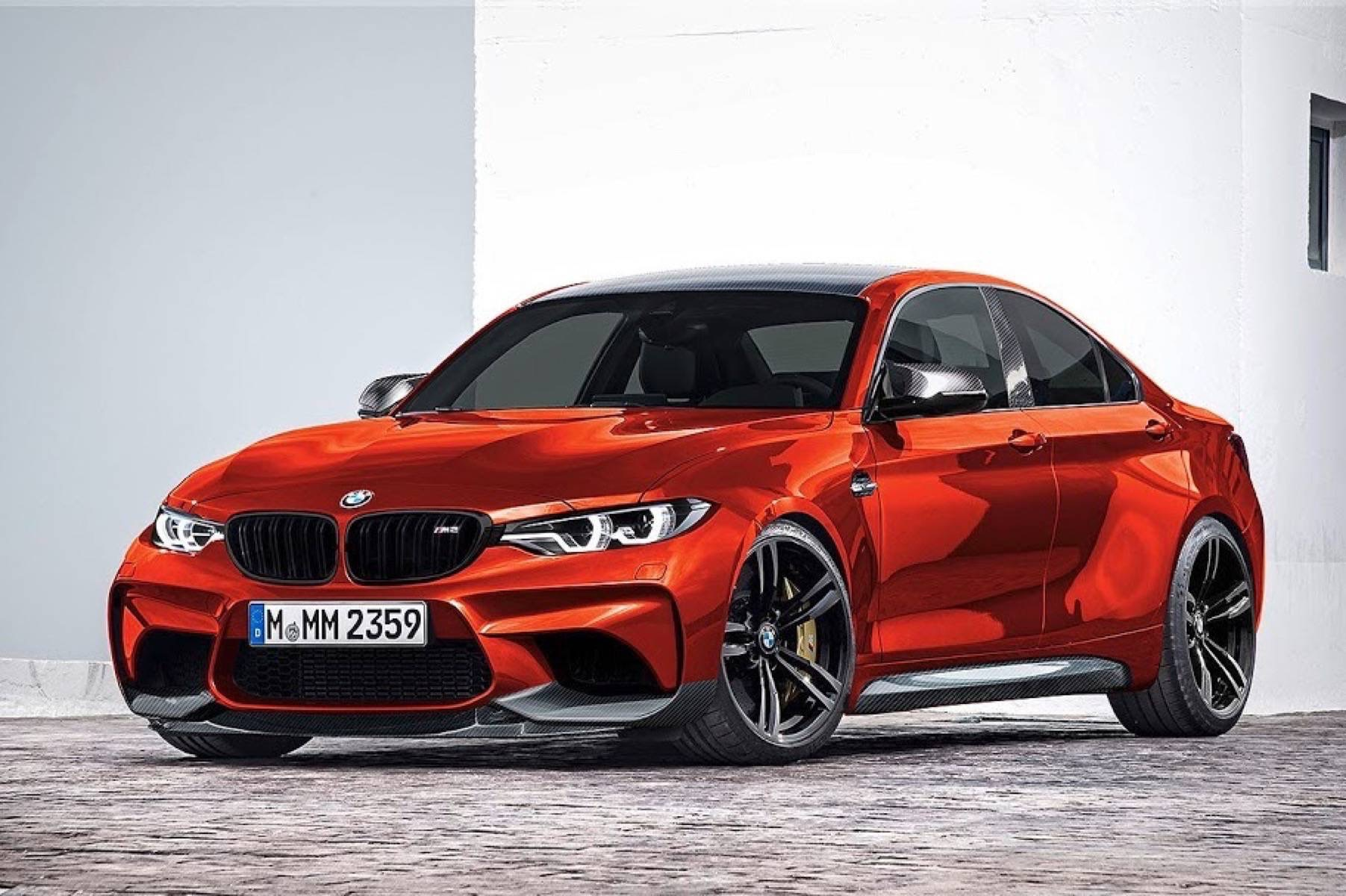 Render do BMW M2 Gran Coupé