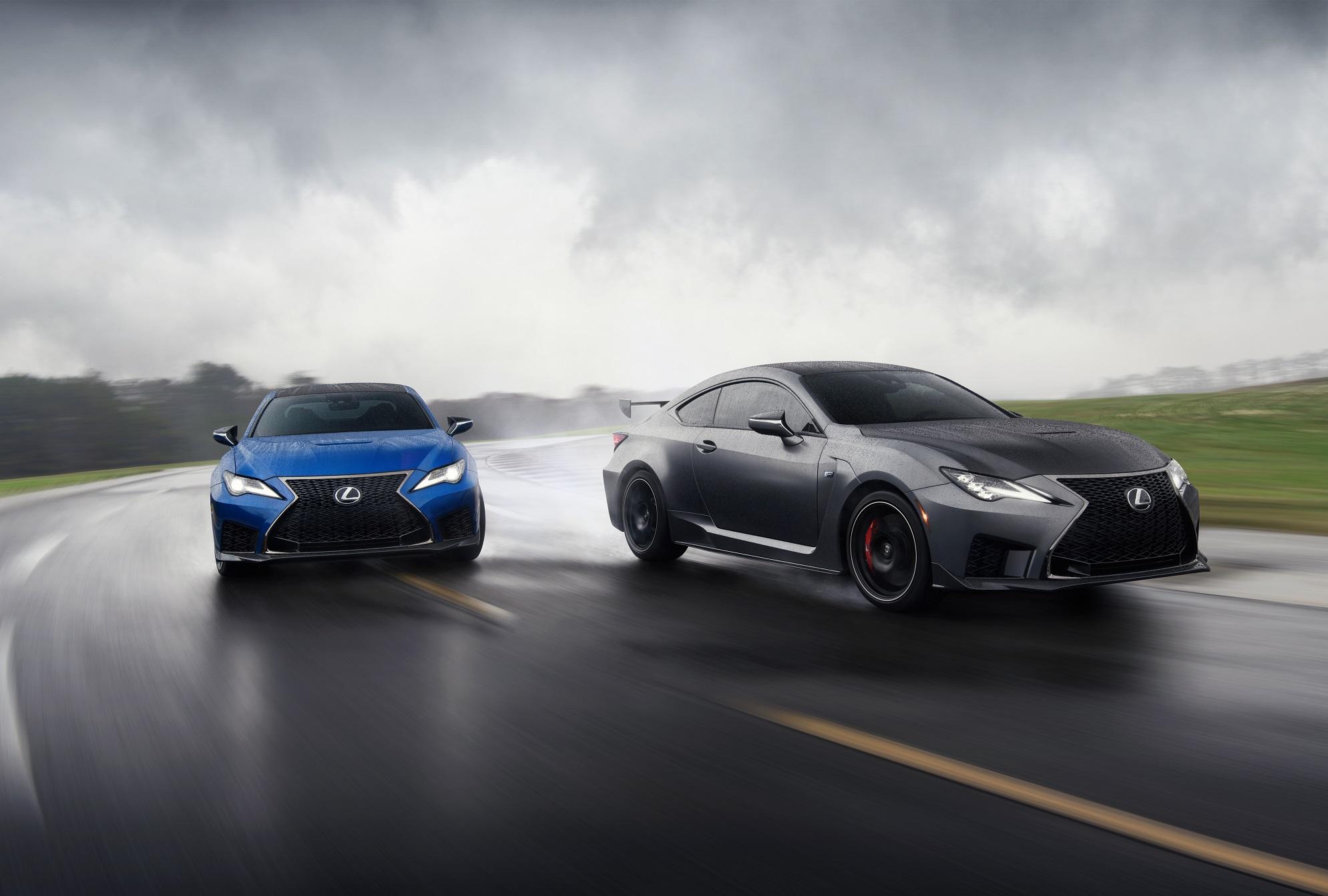 Lexus RC F Track Edition e RC F