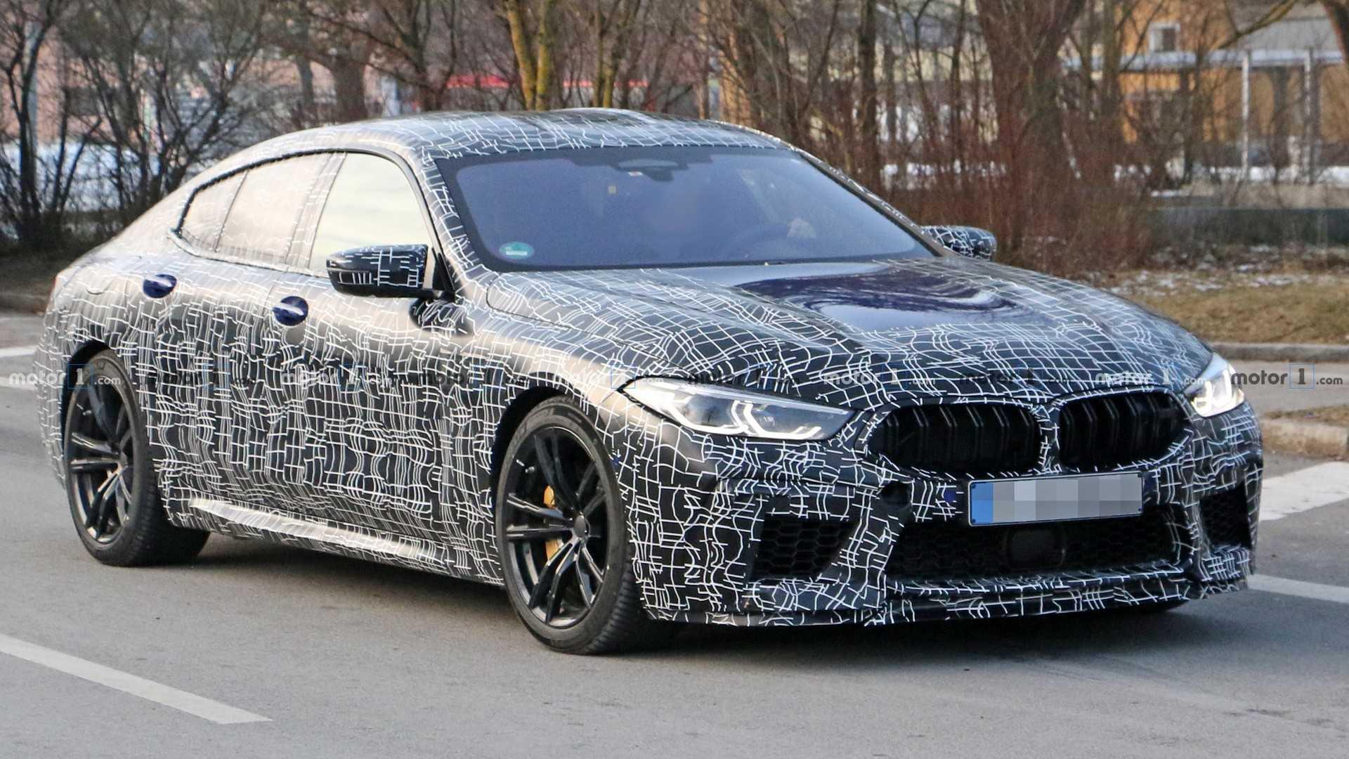 BMW M8 Gran Coupé apanhado em testes