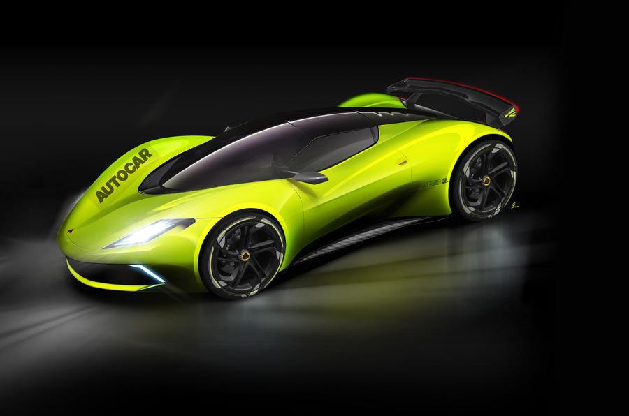 Render da Autocar mostra como poderá ser o supercarro da Lotus
