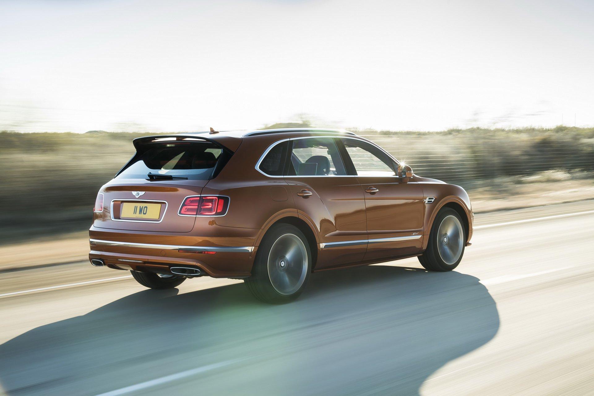 Bentley Estreia O Suv Mais Rapido Do Mundo Auto Drive
