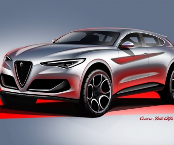Alfa Romeo prepara um novo SUV depois do Stelvio