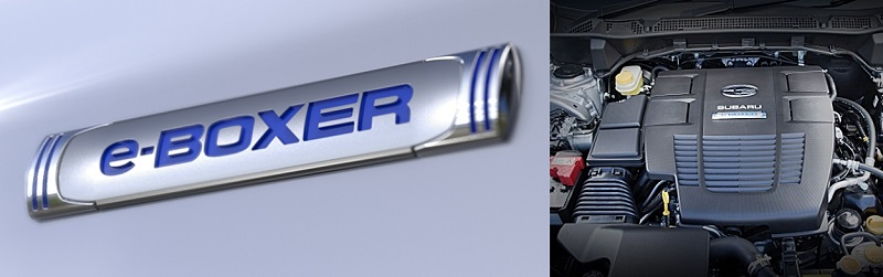 Motor e-Boxer do novo Subaru Forester