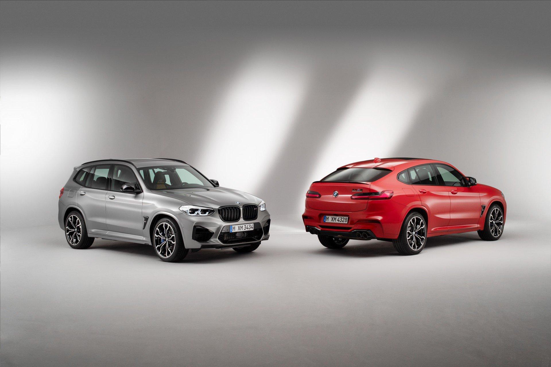 BMW X3 M e X4 M