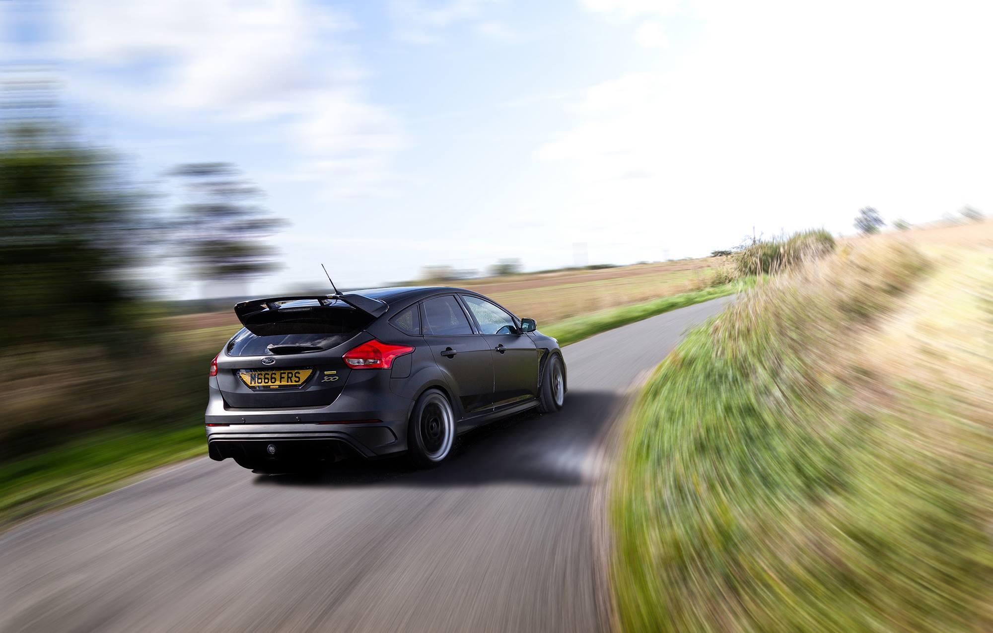 Ford Focus RS ainda mais potente com os kits Mountune