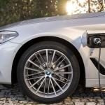 Detalhe da versão berlina BMW 530e iPerformance