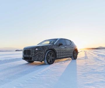BMW iNext em testes no Círculo Polar Ártico