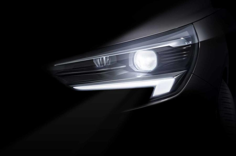 Faróis IntelliLux LED matrix do Opel Corsa