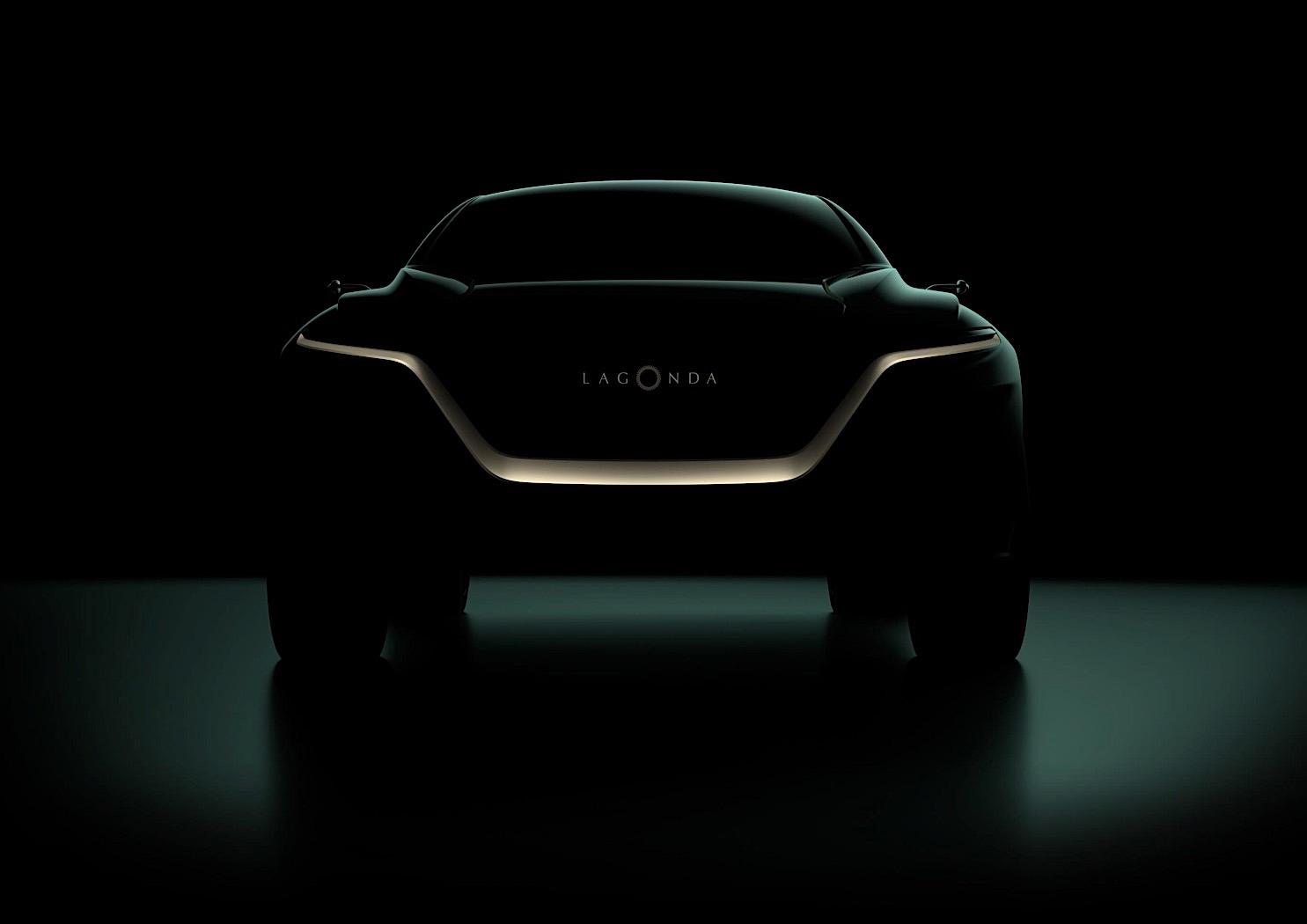 Teaser do SUV Aston Martin Lagonda