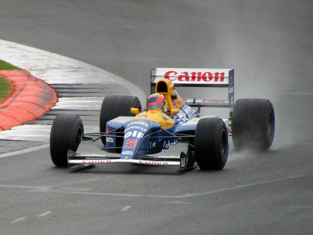 F1 de Mansell vai a leilão