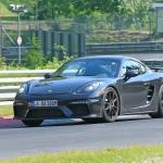 Novo Porsche 718 Cayman GT4 a realizar os últimos testes
